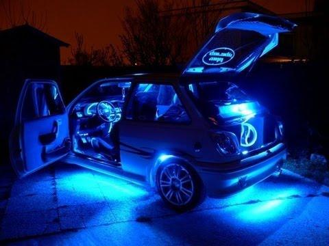 Como armar un equipo de sonido para auto con algunos trucos buen simos - Poner luz interior coche ...