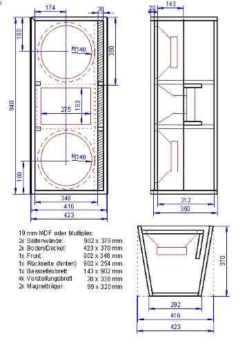 Como hacer bafles aereos haz de la fabricaci n de bafles for Hacer planos en linea