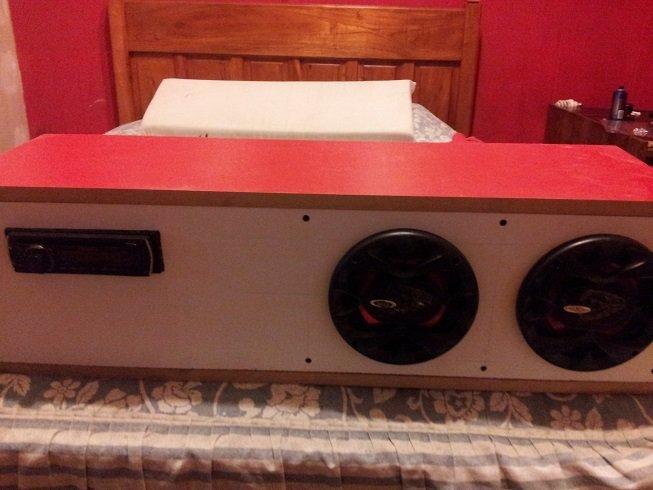 Como hacer bafles para sonido casero y arma un reproductor de sonido - Equipo musica casa ...